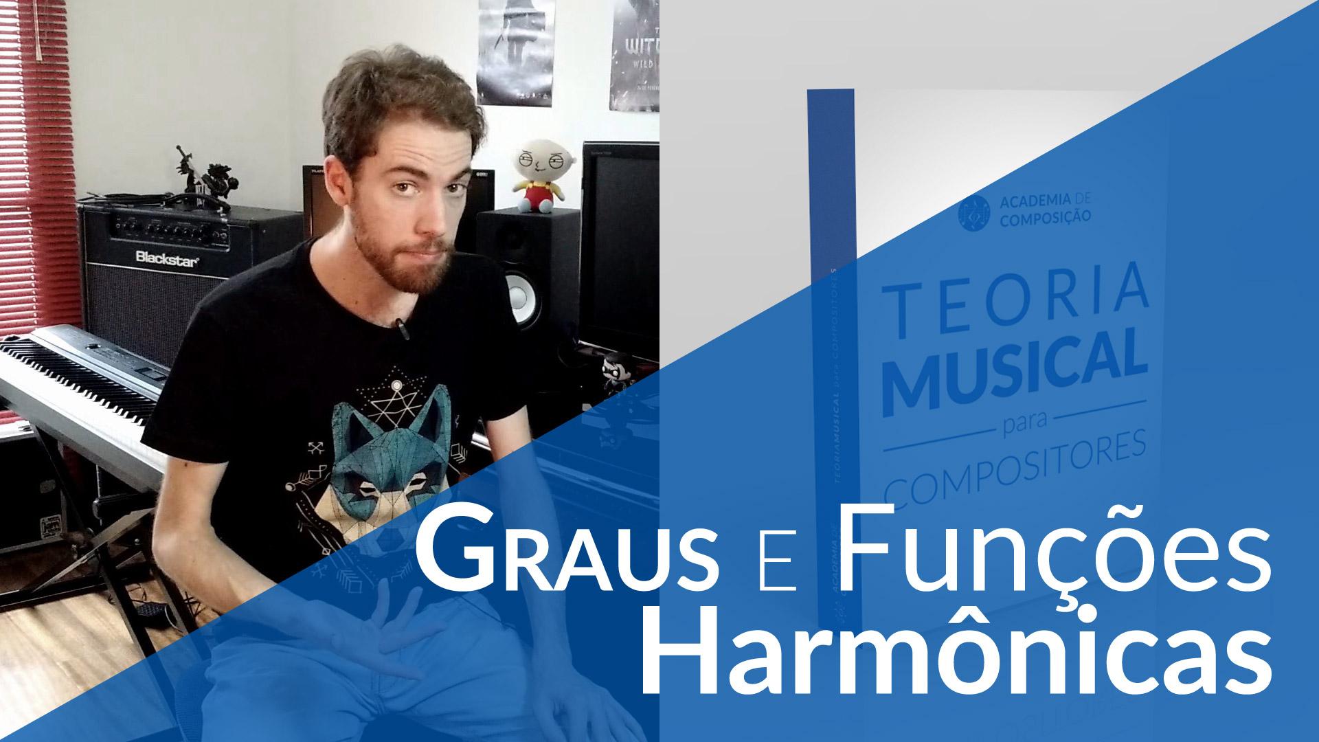 Graus e funções harmônicas